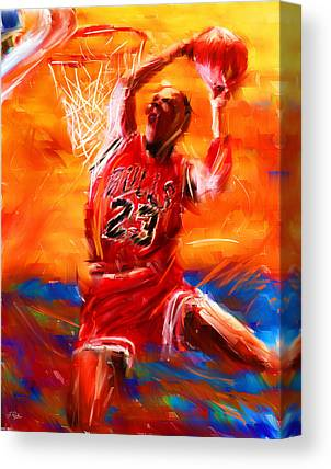 Basketball Collection Canvas Prints