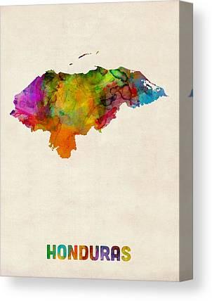 Honduras Canvas Prints