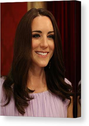 Kate Middleton Photographs Canvas Prints
