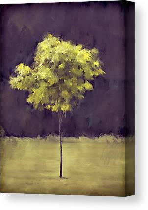 Single Tree Canvas Prints