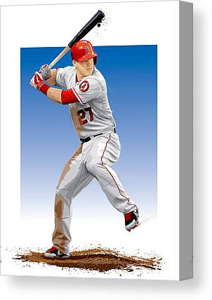 Los Angeles Angels Canvas Prints