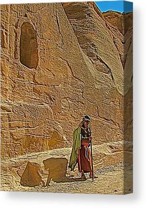 Nabatean Digital Art Canvas Prints
