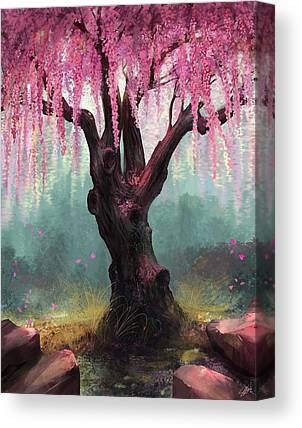 Asian Canvas Prints