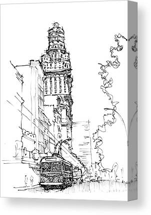 Montevideo Canvas Prints