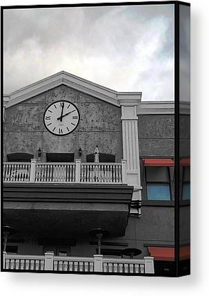 Old Town Temecula Canvas Prints