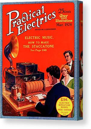 Electronic Instruments Canvas Prints