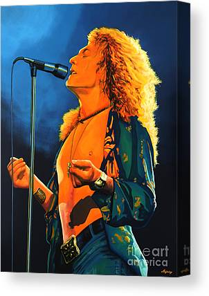 Robert Plant Canvas Prints