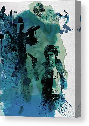 Thriller Paintings Canvas Prints
