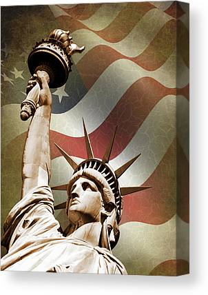 Statue Of Liberty Photographs Canvas Prints