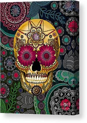 Mexican Art Canvas Prints