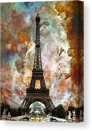 The View Mixed Media Canvas Prints