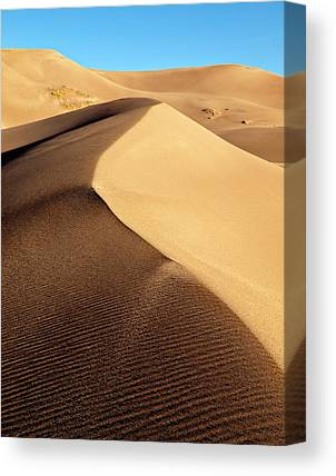 Great Sand Dunes National Preserve Canvas Prints