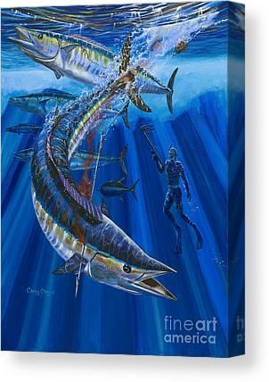 Black Tip Sharks Canvas Prints