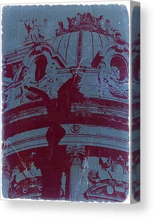 Parisian Photographs Canvas Prints