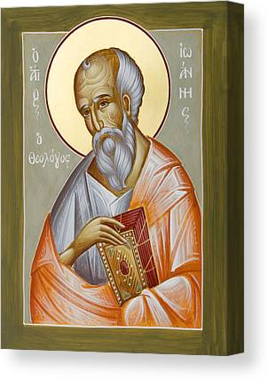 St John The Theologia Canvas Prints