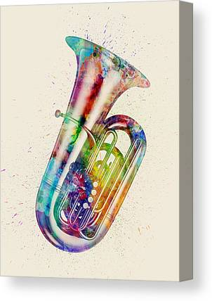 Tubas Canvas Prints