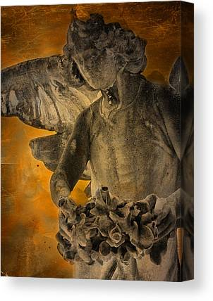 Head Stone Canvas Prints