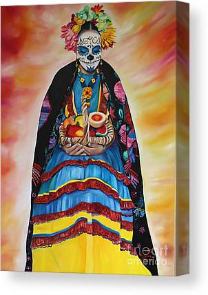 Mexicano Paintings Canvas Prints
