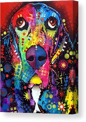 Basset Canvas Prints