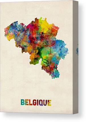 Brussels Canvas Prints