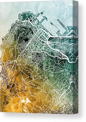 Cape Town Canvas Prints