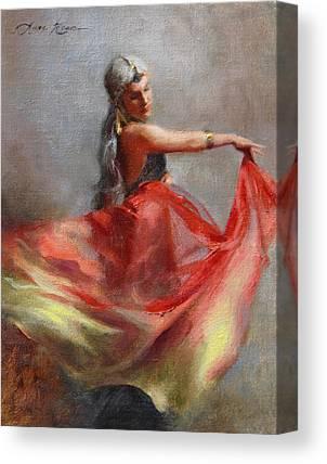 Gypsies Canvas Prints