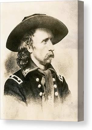 General Custer Canvas Prints