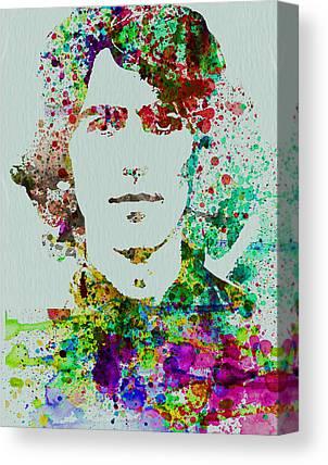 Beatles Mixed Media Canvas Prints