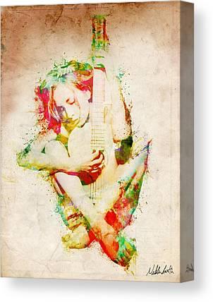 Embrace Digital Art Canvas Prints