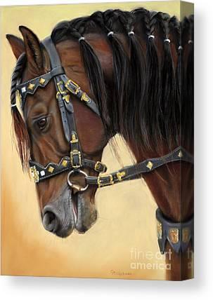 Equine Pastels Canvas Prints
