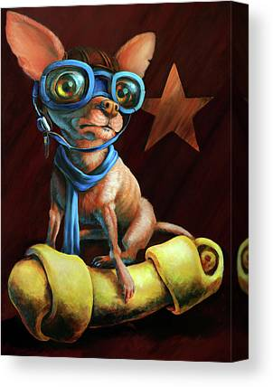 Chihuahua Canvas Prints