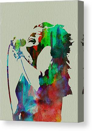 Janis Joplin Canvas Prints