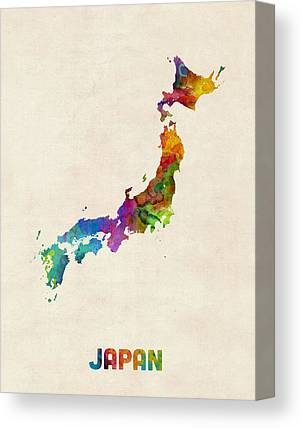 Osaka Canvas Prints