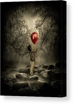 Missing Child Mixed Media Canvas Prints