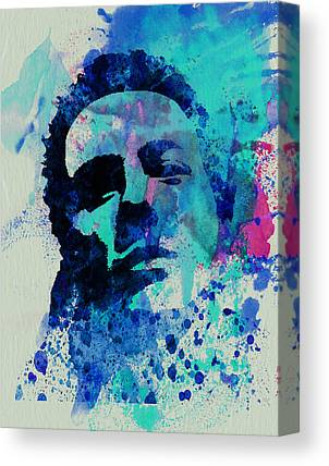 Joe Strummer Canvas Prints
