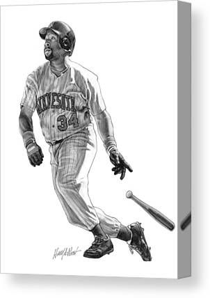 Pucketts Drawings Canvas Prints