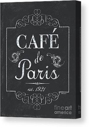 Menu Illustrations Canvas Prints