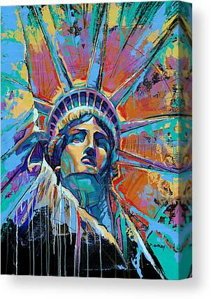 Statue Canvas Prints