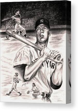 Iconic Baseball Players Canvas Prints