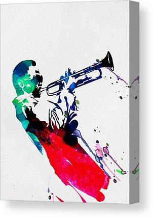 Jazz-funk Canvas Prints