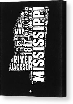 Mississippi River Canvas Prints
