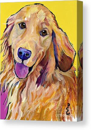 Doggy Cards Canvas Prints