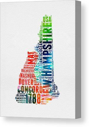 Concord New Hampshire Canvas Prints