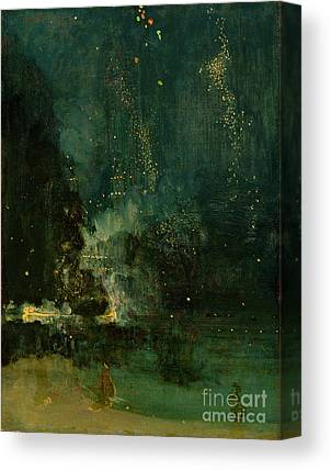 Whistler Paintings Canvas Prints