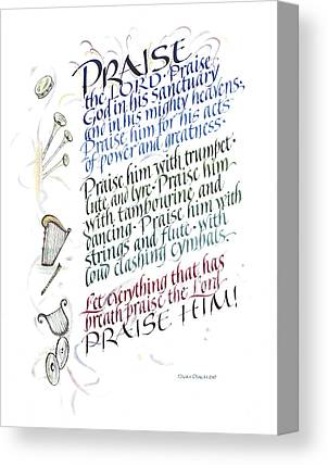 Praise The Lord Canvas Prints