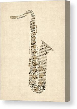 Michael tompsett music instruments wall art - Michael in the bathroom sheet music ...