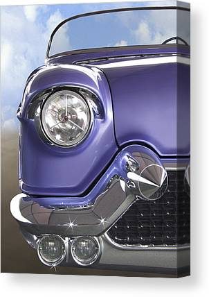 Purple Car Canvas Prints