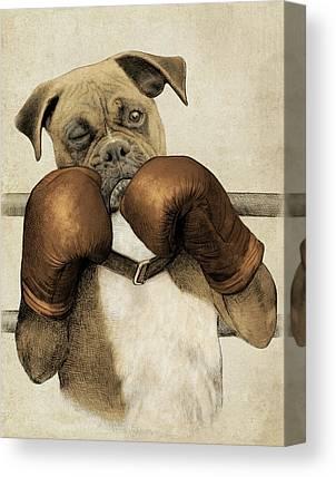 Boxer Canvas Prints