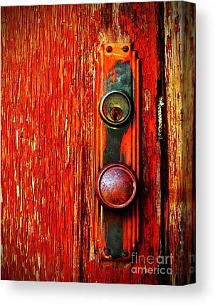 Door Handles Canvas Prints