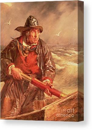 Seafarer Canvas Prints